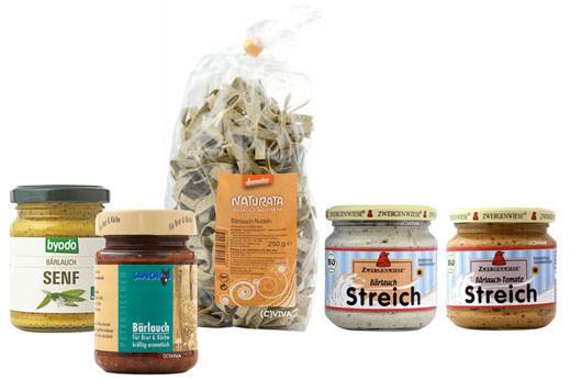 Bärlauch-Produkte Bio