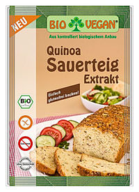 Biovegan Sauerteig Extrakt Quinoa glutenfrei