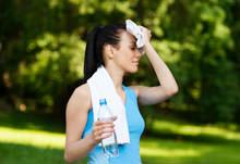 Mineralwasser- oder Leitungswasser-Test