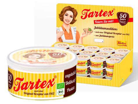 Tartex Retro Aufstrich Brotaufstrich