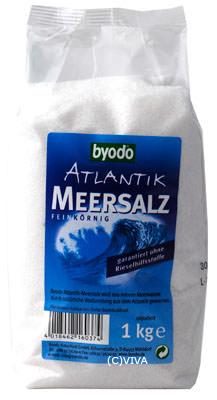 Salz ohne Rieselhilfen