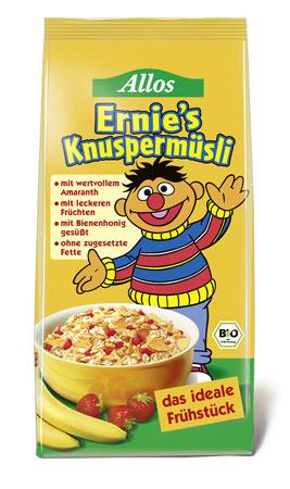 Allos Ernies Knuspermüsli Sesamstraße für Kinder
