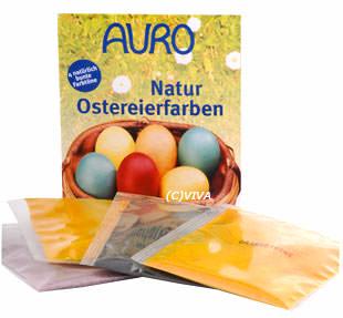 Auro Natur-Ostereierfarbe zum Ostereier-Färben