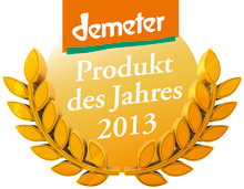 demeter-Produkt des Jahres 2013