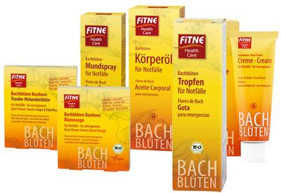 FITNE Bachblüten-Produkte für den Notfall