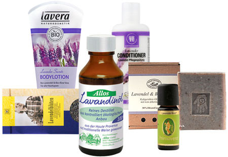 Bio-Lavendel-Produkte im Naturkost-Versand