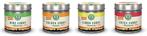 Lebensbaum Demeter-Curry Bio Biocurry