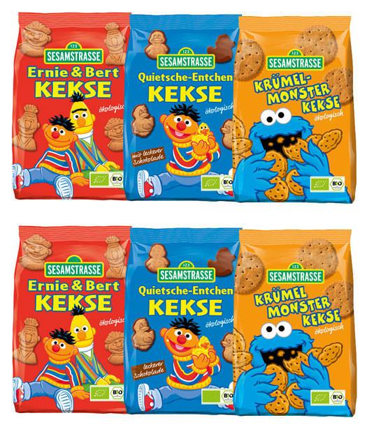 Allos Sesamstrasse Keks Bio