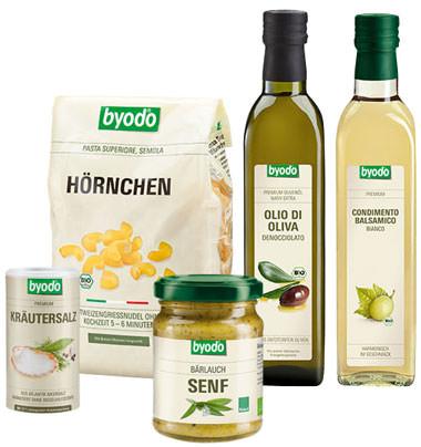 Byodo Bio-Naturkost-Produkte
