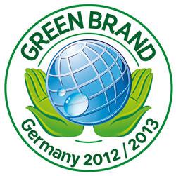 Green Brand Gütesiegel für AlmaWin