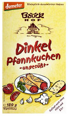 Bauck Bauckhof Dinkel-Pfannkuchen