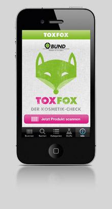 BUND ToxFox Kosmetik-Check