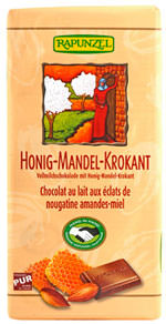 Rapunzel Honig-Mandel-Krokant-Schokolade