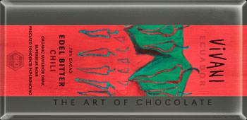 Vivani Edelbitter-Bio-Schokolade mit Chili