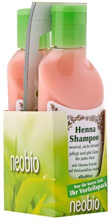 neobio Henna-Shampoo