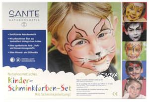 SANTE Schminkfarben für Kinder (Set)