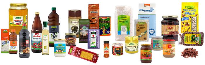 Biolebensmittel und Naturkosmetik im Online-Shop