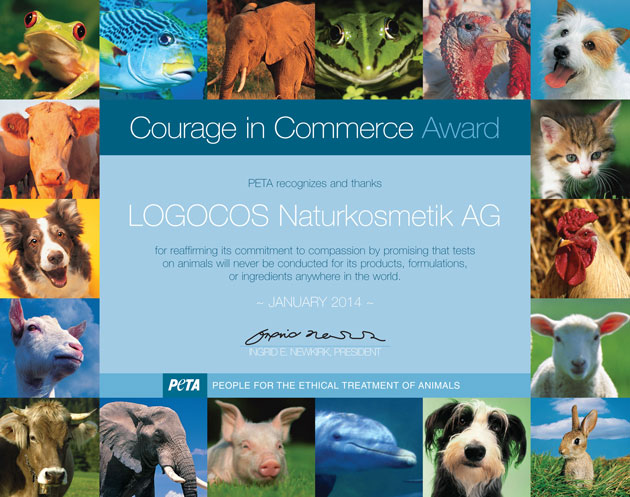 LOGOCOS Courage in Commerce Award