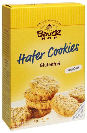 Bauck Bauckhof glutenfreie Hafer-Cookies