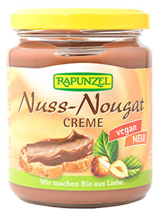 Rapunzel Nuss-Nougat-Creme vegan und bio