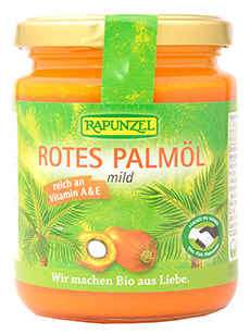 Rapunzel Rotes Palmöl