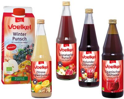 Voelkel Bio-Punsch-Getränke
