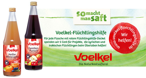 Voelkel Spendenaktion Winter 2014