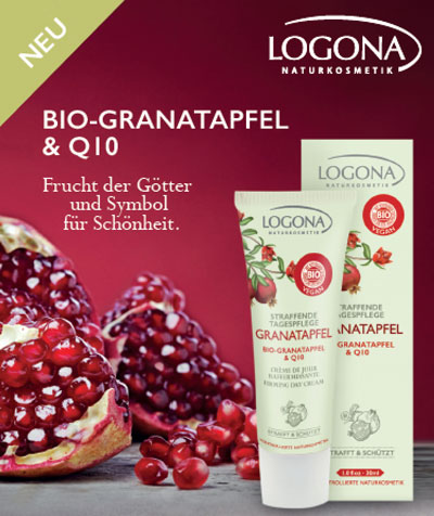 LOGONA Granatapfel Q10 Pflegeserie