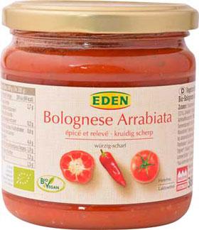 eden-vegetarische-bolognese-arabiata