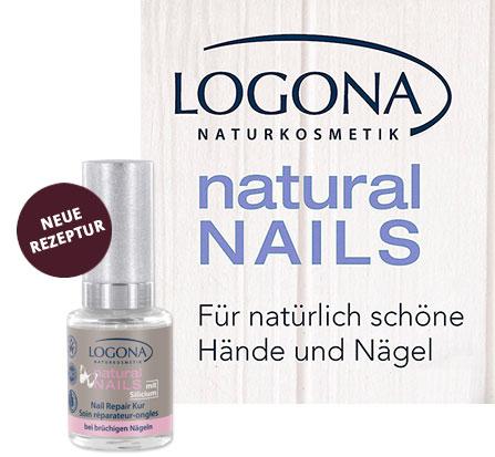 LOGONA Nagelpflege und Nagellack