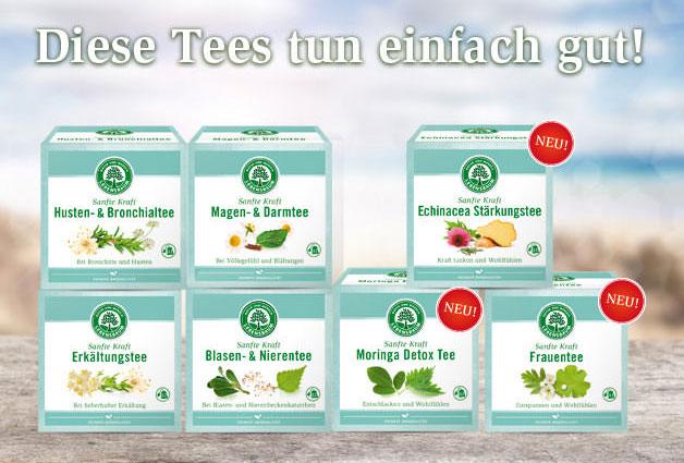 Sanfte Kraft-Tee von Lebensbaum