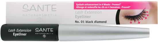 SANTE Lash Extension Eyeliner Naturkosmetik