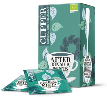 Cupper After-Dinner-Mints Kräutertee-Mischung