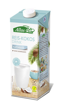 Allos Reis-Kokos-Drink