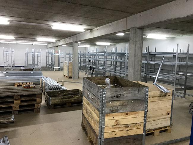 Teil der neuen Etage 3
