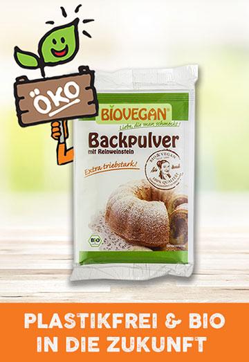 Bio-Backpulver von Biovegan